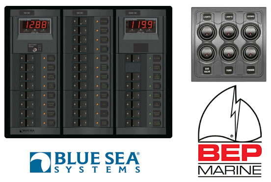 we can custom build your new switch panel from scratch to your specific  requirements  we also supply manufactured panels from bluesea systems,